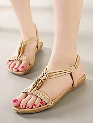 Women's Shoes Leather Flat Heel Slingback Sandals More Colors available