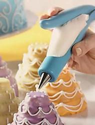 decoração do bolo ferramentas caneta dispositivo fondant arma creme decoração de cozinha