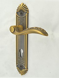 Antique Brass Finish Zinc Alloy Door Handle, Door Lock