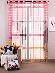 (One Panel) Designer Animal Polyester Print Curtain