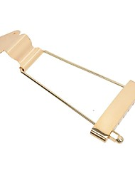 Golden Trapeze Tailpiece For 6 String Guitar 50.0 m/m String Pitch MU0460
