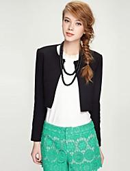 Women's Work Long Sleeve Short Blazer