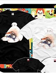 Big Hero 6 Bay Max Black&White  Cosplay T-Shirt