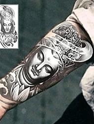 Bodhisattva Buddha Tattoo Stickers Temporary Tattoos(1 Pc)
