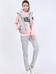 Jojo Women's Vest Hoodie Suit Three-piece Suit