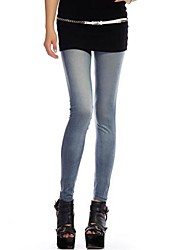 Damen Jeans Legging,Elasthan Medium