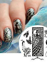 Nail Art Stamp Stamping Image Template Plate JQ Series NO.16
