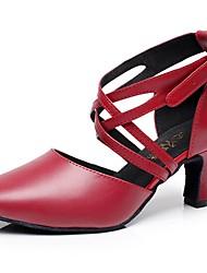 Zapatos de baile ( Rojo ) - Moderno - Personalizados - Tacón de estilete