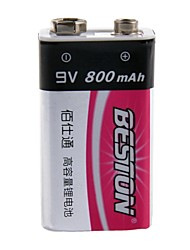 9V 800mAh Rechargeable Ni-MH 9V Battery 1 pcs