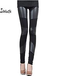 NUO WEI SI® Women's High Waist Crop Tight Pants