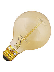 1 Stück YouOKLight E26/E27 40W 1 COB 400 LM Warmes Weiß B edison Vintage LED Kugelbirnen AC 220-240 / AC 110-130 V
