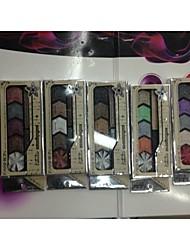 5 Eyeshadow Palette Matte / Shimmer Eyeshadow palette Powder Normal