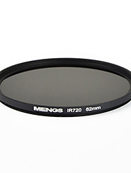 MENGS® 62mm Infrared Filter IR 720nm With Aluminum Frame For DSLR Digital Camera