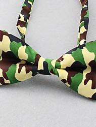 SKTEJOAN®Men's Fashion Show Camouflage Bow Tie