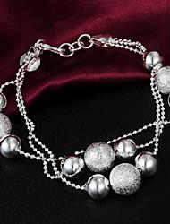 N7 Women's Handwork Delicacy Fashion 925 Silver Bracelet-H028