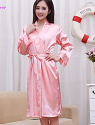 Women Polyester/Satin/Silk/Ice Silk Babydoll & Slips/Chemises & Gowns/Robes/Satin & Silk/Ultra Sexy Nightwear