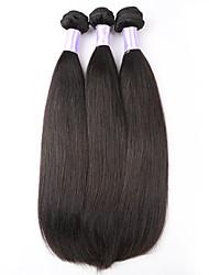 "3pcs/lot 8""-28"" Peruvian Virgin Hair Straight Human Hair Weave Unprocessed Human Hair Extensions"