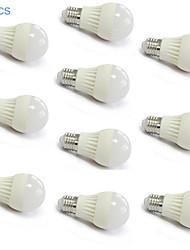 10pcs MORSEN® E27 5W 18X2835SMD 400-500LM Light LED Ball Bulb(220V)