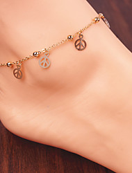 Fashion Pure Metal Anklets