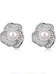 Party / Casual Alloy / Imitation Pearl Stud Earrings