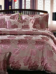 Yuxin® Cotton Duvet Cover Sets 4 Piece Suit Comfort Simple Modern