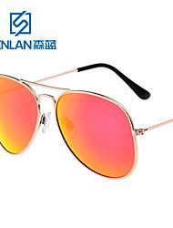 Senlan Mirrored/100% UV400 Aviator Sunglasses