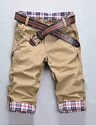 Informell Ärmellos - MEN - Shorts ( Baumwoll Mischung )
