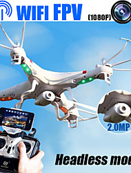 New!Wifi FPV RC Quadcopter Built-in Camera with Headless Mode,Phone Or Transmitter control RC Drone