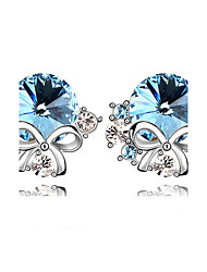 Party / Casual Alloy / Rhinestone Stud Earrings