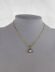Fashion Shining Crystal/Alloy Necklace Pendant Drop Water Necklaces Daily/Casual