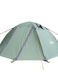 Hewolf Moistureproof Waterproof Polyester One Room Tent for 2 Person 1582 Light Green