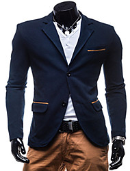 ZYFG 2015 spring new men's casual knit two button leisure suit jacket men