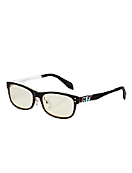 [lentilles] jimmy libres Orange Bleu rectangle preuve cerclées lunettes informatiques