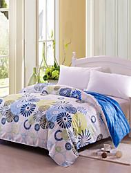 Azul claro Multicolor - de Algodón