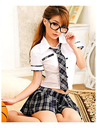 Women's Babydoll & Slips Garters & Suspenders Matching Bralettes Satin & Silk Ultra Sexy Uniforms & Cheongsams NightwearCotton Blends
