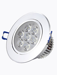 "8A Lighting 4"" 7W High Power LED 560LM 2800-6500K Warm White/Cool White Recessed LED Downlights AC85-265V"
