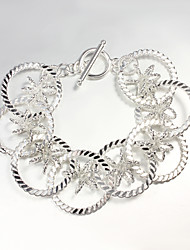 Italy 925 Silver Great Design Bracelet New Design Cuff Bracelet