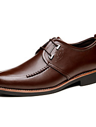 Men's Shoes Wedding/Office & Career/Party & Evening/Dress Genuine Leather Oxfords