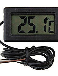 Mini Digital Fridge Thermometer Black LCD Display4.8*2.85*1.5 cm