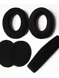 Replacement Ear Pads Cushion & Headband Cover for Sennheiser HD515 HD555 HD595 HD518 HD558 Headphones