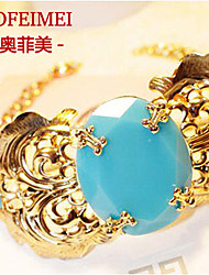 Sapphire jewelry necklace jewelry in Europe and America