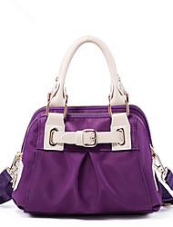 Bensjiaos Casual Leisure Handbag Nylon Purses Hobos Shoulder Bags for Women