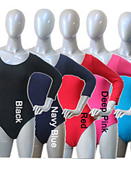 Cotton/Lycra 3/4 Sleeves Dance Leotards More Colors for Girls and Ladies
