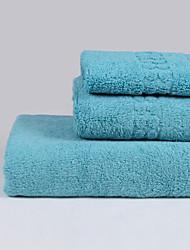 Ensemble de serviette de bain - Solide - en 100% Coton