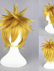 14inch Bleach-Kurosaki ichigo Light Blonde Anime Cosplay Wig