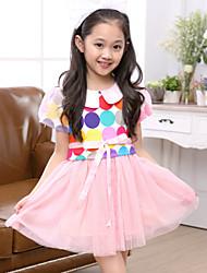 Kid's Casual/Cute Dresses (Cotton)
