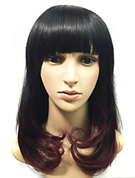 Hot Sale Cheap Fashion Ombre Wigs Synthetic Celebrity Two Tone Long Wig