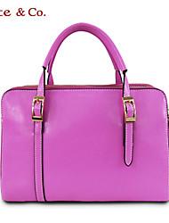 Kate&Co.® Women's Fashion Simple Elegant Leather Tote handbags