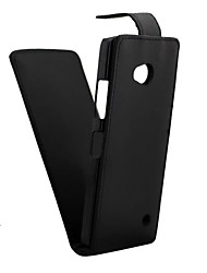 For Nokia Case Flip Case Full Body Case Solid Color Hard PU Leather NokiaNokia Lumia 930 / Nokia Lumia 925 / Nokia Lumia 830 / Nokia