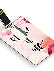 4gb afschudden ontwerp kaart usb flash drive